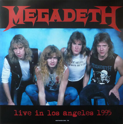 Live in Los Angeles 25-02-1995 - Vinile LP di Megadeth