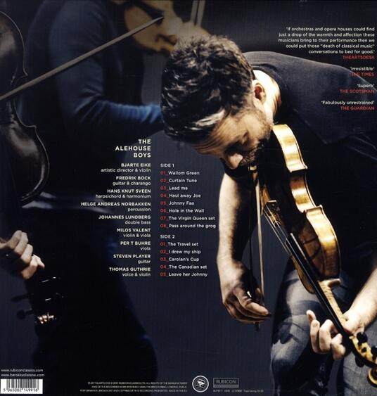 The Alehouse Sessions - Vinile LP di Barokksolistene,Bjarte Eike - 2