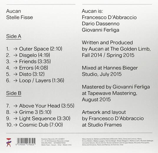 Stelle fisse - Vinile LP di Aucan - 2