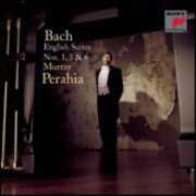 CD Suites inglesi n.1, n.3, n.6 Johann Sebastian Bach Murray Perahia