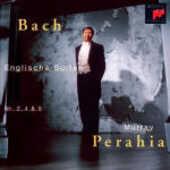 CD Suites inglesi n.2, n.4, n.5 Johann Sebastian Bach Murray Perahia