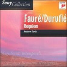 Requiem - CD Audio di Gabriel Fauré,Maurice Duruflé