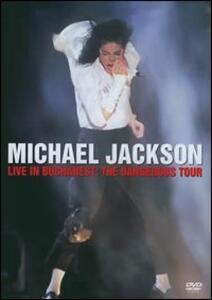 Michael Jackson. Live in Bucharest. The Dangerous Tour - DVD