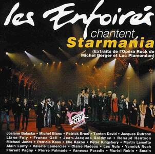 Les Enfoires. Enfoires Chantent Starmania - CD Audio