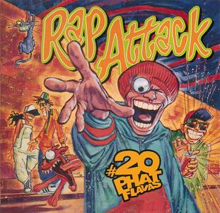 Rap Attack 20 Phat Flavas - CD Audio