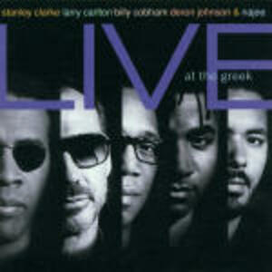 Live at the Greek - CD Audio di Stanley Clarke
