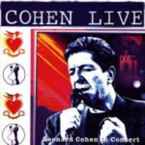 Cohen Live - CD Audio di Leonard Cohen