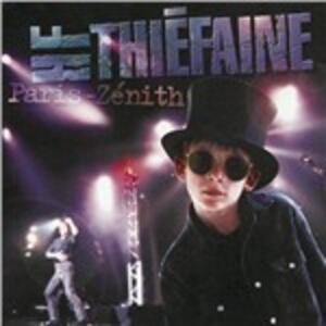 Paris - Zénith 1995 - CD Audio di Hubert-Félix Thiéfaine
