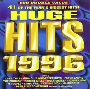 Huge Hits 1996 - CD Audio