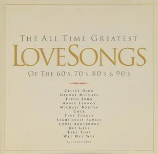 All Time Greatest Love Songs vol.1 - CD Audio