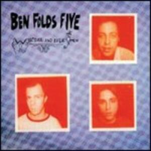 Whatever and Ever Amen - CD Audio di Ben Folds Five