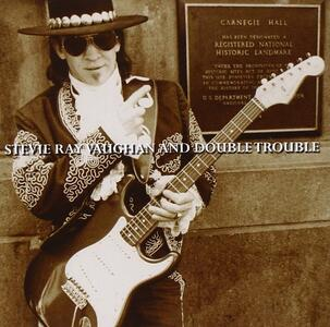 Live at Carnegie Hall - CD Audio di Stevie Ray Vaughan,Double Trouble