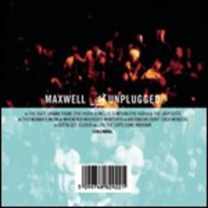 Mtv Unplugged - CD Audio di Maxwell