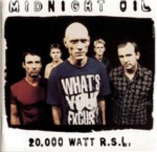 20.000 Watt RSL - CD Audio di Midnight Oil
