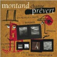Montand chante Prévert - CD Audio di Yves Montand