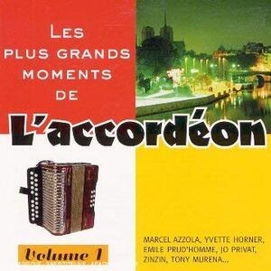 Les Grands Moments De L'accordeon 1 - CD Audio