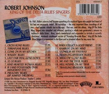 King of the Delta Blues Singers - CD Audio di Robert Johnson - 2