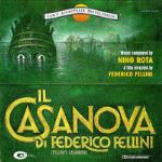 Cover CD Colonna sonora Il Casanova di Federico Fellini