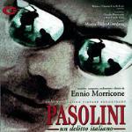 Cover CD Colonna sonora Pasolini un delitto italiano