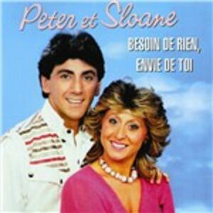 Besoin De Rien, Envie de - CD Audio di Peter & Sloane