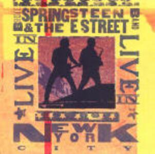 Live in New York City - CD Audio di Bruce Springsteen