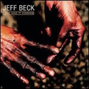 You Had It Coming - CD Audio di Jeff Beck
