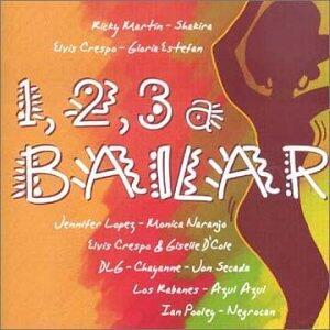 1, 2, 3 a Bailar - CD Audio