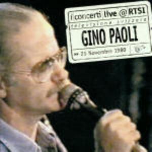 Live RTSI - CD Audio di Gino Paoli