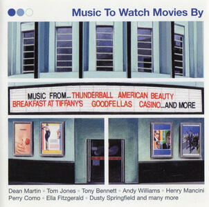 Music to Watch Movies by - CD Audio