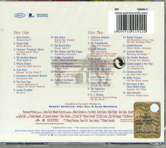 Forrest Gump (Colonna sonora) - CD Audio - 2