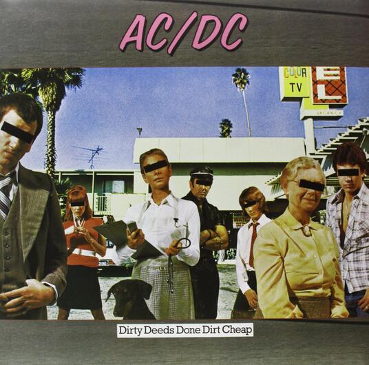 Dirty Deeds Done Dirt Cheep - Vinile LP di AC/DC