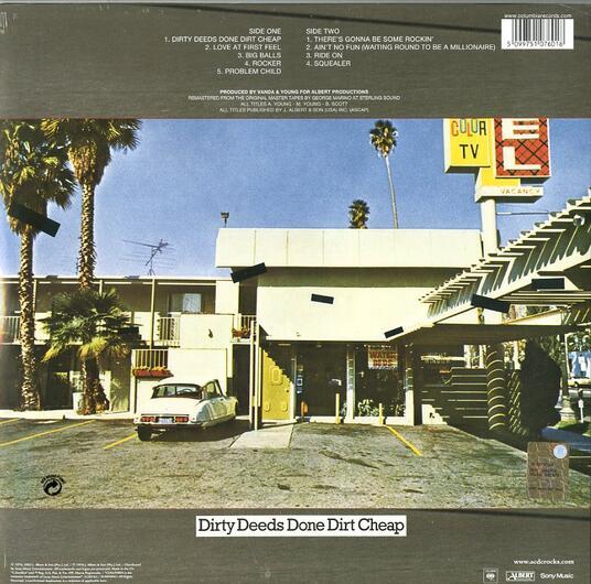 Dirty Deeds Done Dirt Cheep - Vinile LP di AC/DC - 2