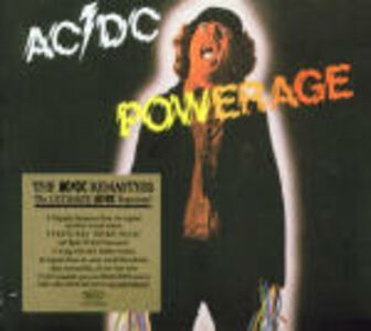 Foto Cover di Powerage, CD di AC/DC, prodotto da Epic