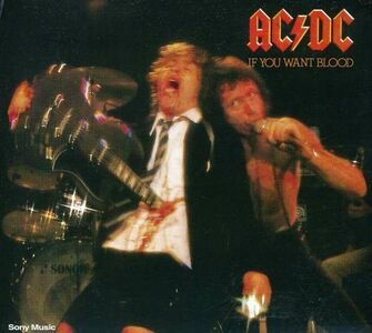 Foto Cover di If You Want Blood You've Got It, CD di AC/DC, prodotto da Epic