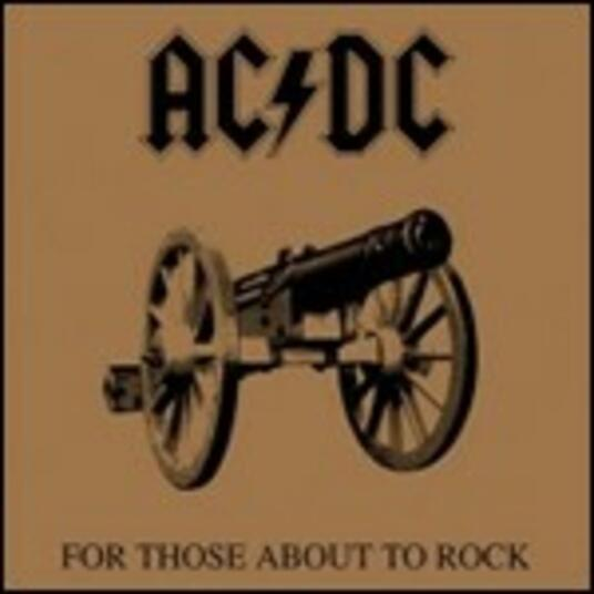 For Those About to Rock - Vinile LP di AC/DC