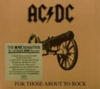 Foto Cover di For Those About to Rock, CD di AC/DC, prodotto da Epic