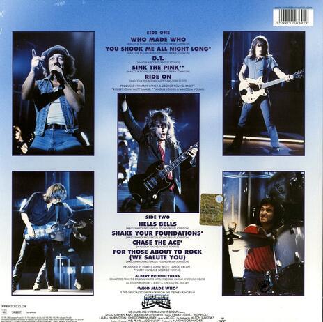 Who Made Who - Vinile LP di AC/DC - 2