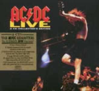 Foto Cover di Live, CD di AC/DC, prodotto da Epic