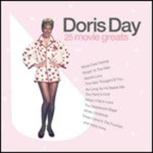 25 Movie Greats - CD Audio di Doris Day