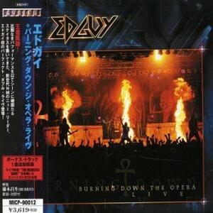 Burning Down the Opera Live - CD Audio di Edguy