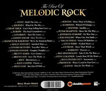Best of Melodic Rock - CD Audio - 2