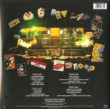 Live - Vinile LP di AC/DC - 2