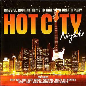 Hot City Nights - CD Audio