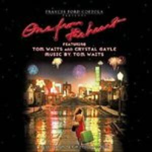 One from the Heart (Colonna Sonora) - CD Audio di Tom Waits,Crystal Gayle