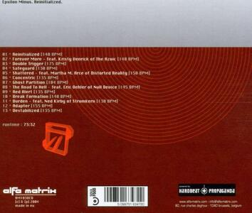 Reinitialized - CD Audio di Epsilon Minus - 2