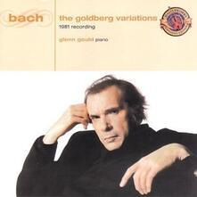 Variazioni Goldberg (1981 Recordings) - CD Audio di Johann Sebastian Bach,Glenn Gould