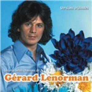 Les plus belles chansons de Gérard Lenorman - CD Audio di Gérard Lenorman