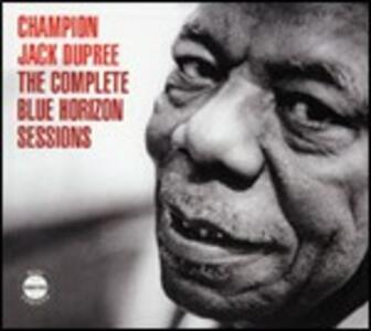The Complete Blue Horizon Sessions - CD Audio di Champion Jack Dupree