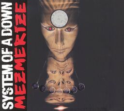 CD Mezmerize System of a Down