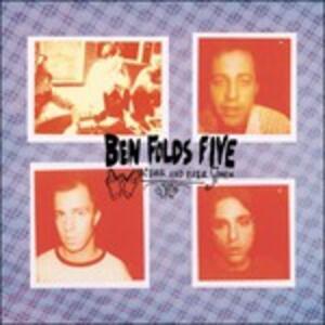 Whatever & Ever Amen - CD Audio di Ben Folds Five